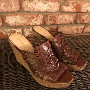 BEAUTIFUL Nine West Wedge Sandals
